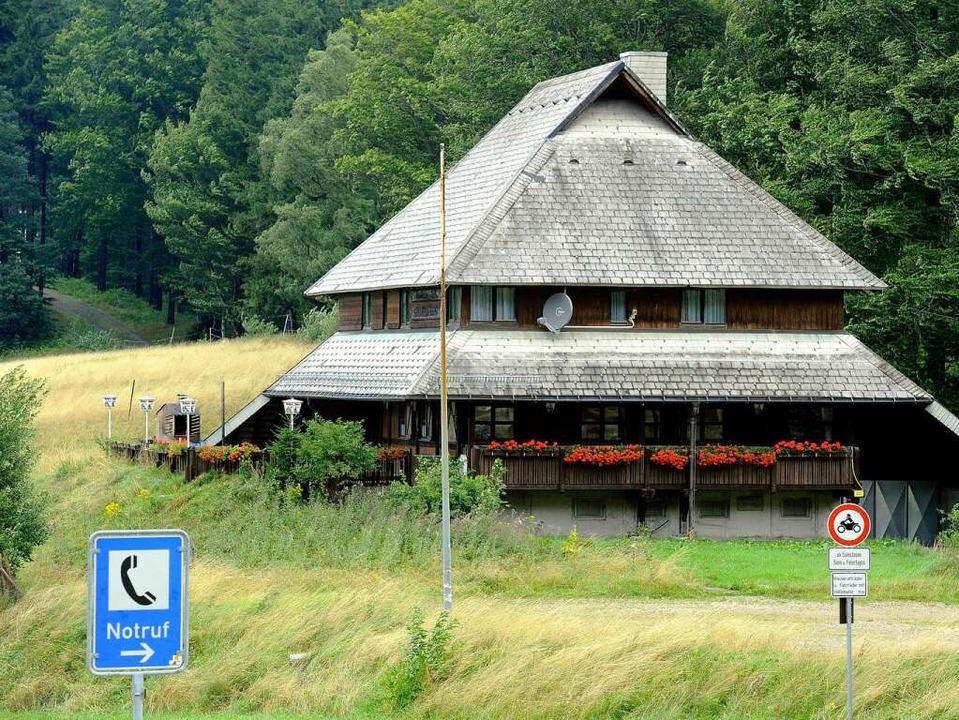 Das ehemals beliebte Lokal auf der Holzschlägermatte ist meistens  geschlossen.   | Foto: ingo schneider