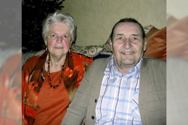 Otmar und Inge König feiern heute