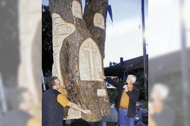 Ein Baum als Kunstwerk