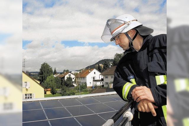 Solartechnik bereitet auch Sorgen