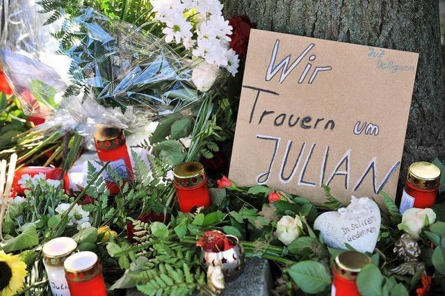 Schock über Julians Tod
