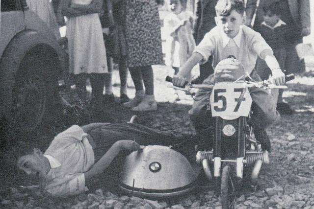 Kurvenreiche Landesstraße war ideal für Seifenkistenrennen