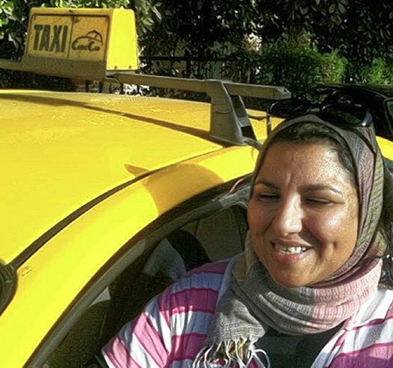 Taxifahrerin Ines Ali   | Foto: GAW