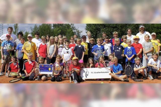 Tenniscamp mit viel Spiel und Spaß