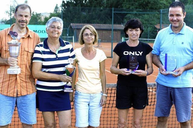 Spannende Tennisspiele