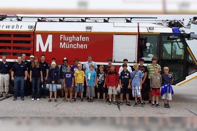 Sommerfreizeit führte Jugendwehrler nach Bayern