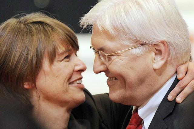 Frank-Walter Steinmeier gibt seiner Frau eine Niere