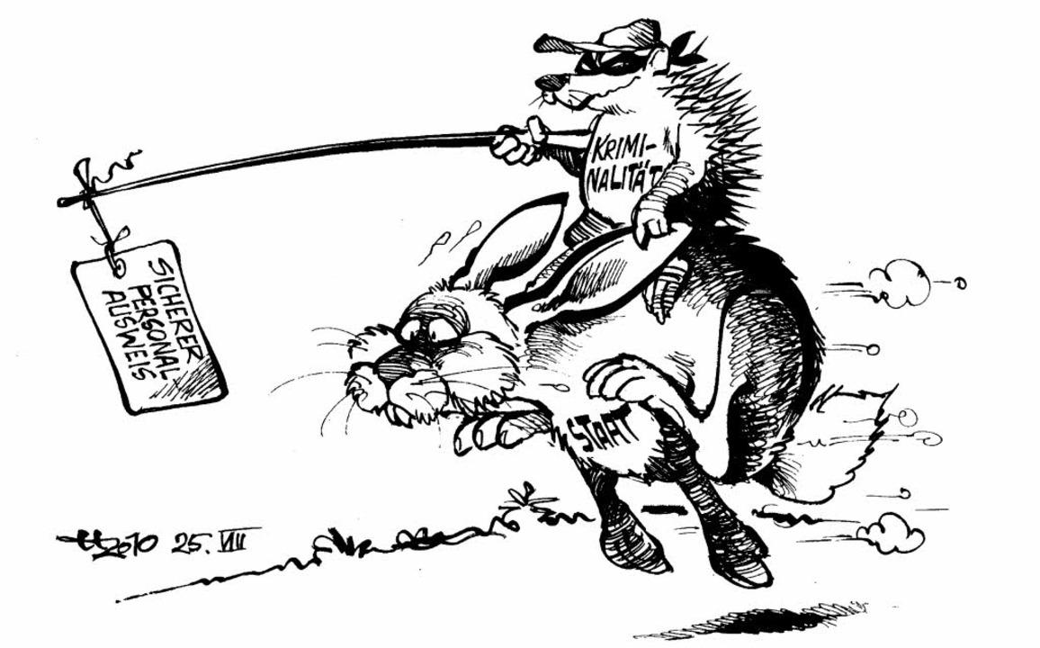 Hase Und Igel Karikaturen Badische Zeitung