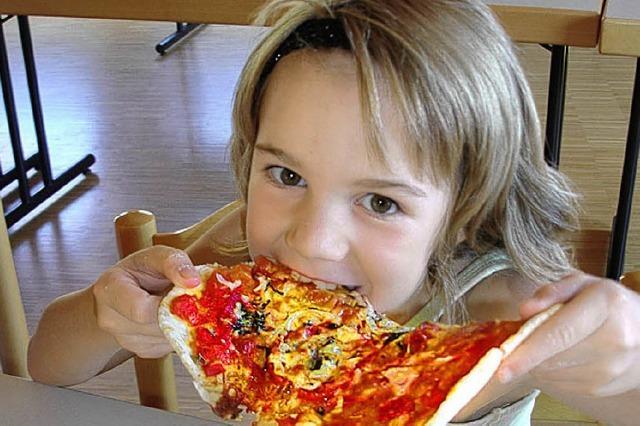 Leckere Pizza selbst gebacken
