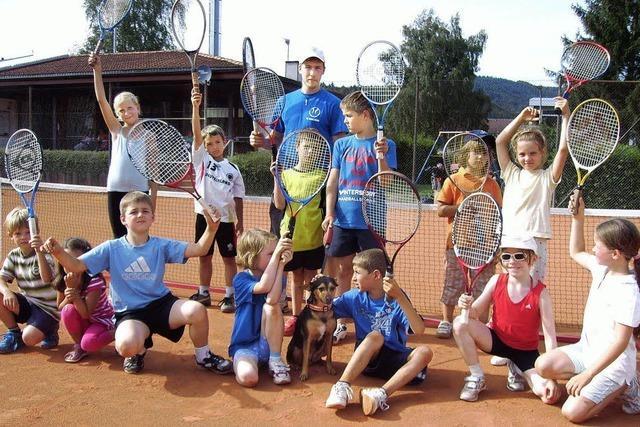 Spiel und Spaß beim Tennisclub