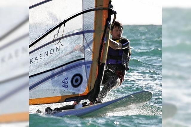Windsurfer Toni Wilhelm - die Liebe zum Sport