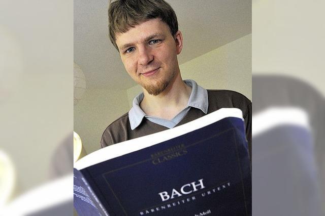 Ein Mann für Bach und sehr viel mehr