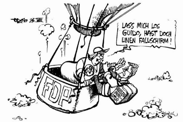 Ballastproblem im Sinkflug