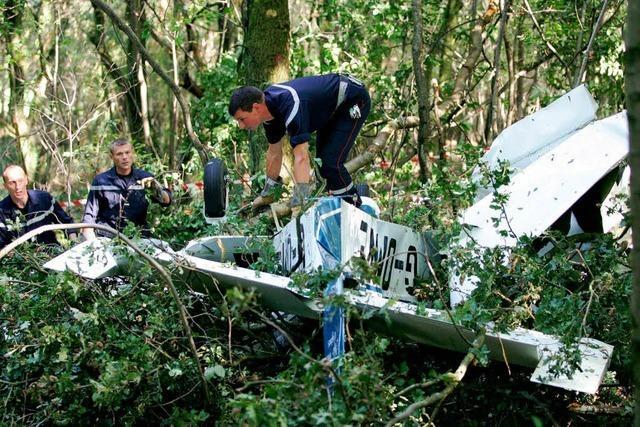 Pilot spricht über seinen Flugzeugabsturz im Elsass