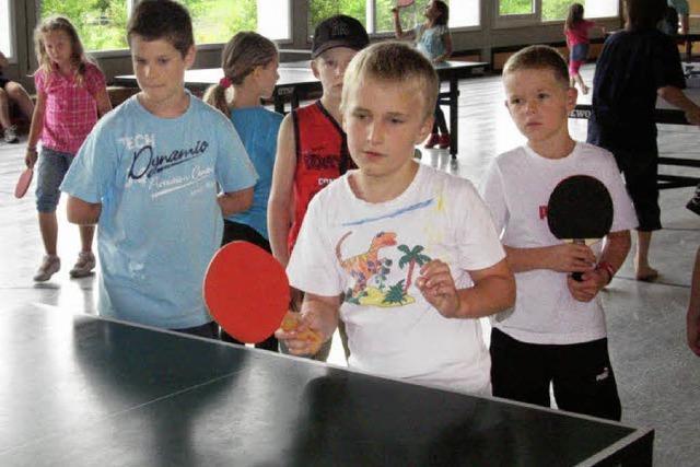 Spiel, Spaß und Konzentration
