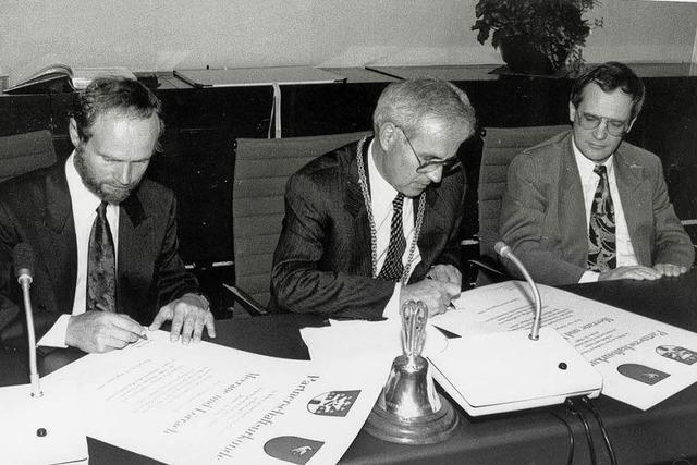 20 Jahre Städtepartnerschaft Lörrach - Meerane