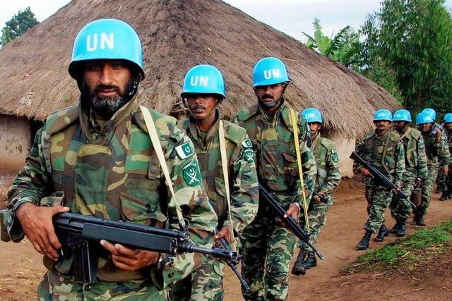 Schauten die UN-Blauhelme im Kongo bei Gräueltaten zu?