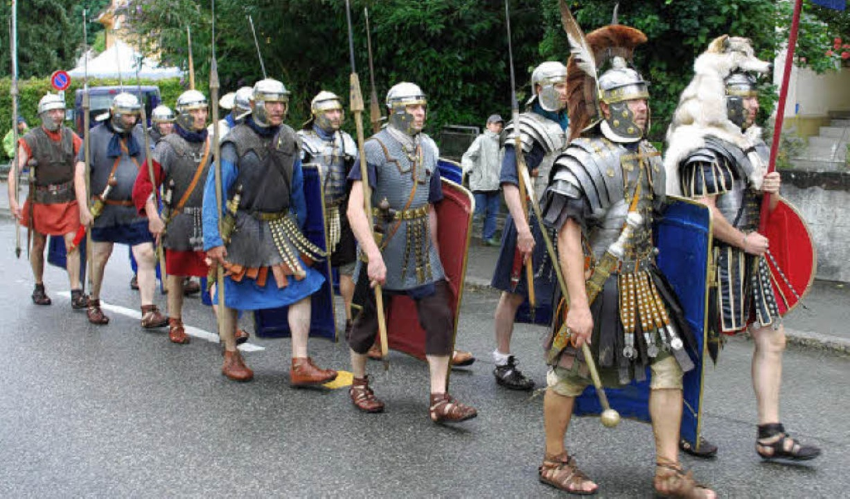 Eine Kohorte römischer Legionäre  | Foto: Thomas Loisl Mink