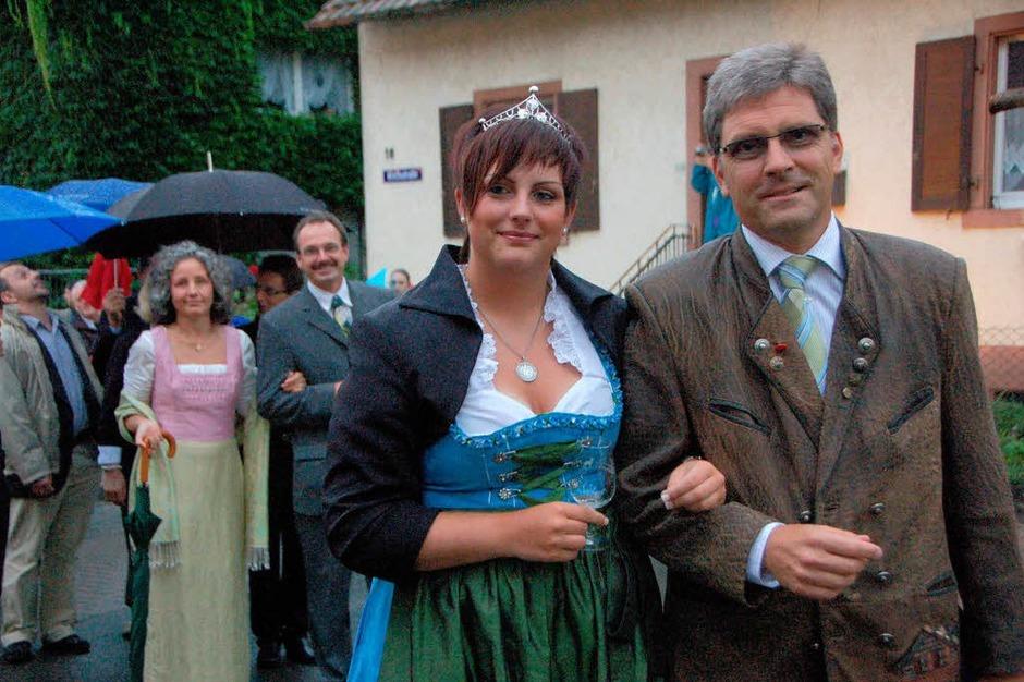 Impressionen vom Wolfenweiler Weinfest mit Winzerolympiade. <?ZP?> (Foto: Tanja Bury)