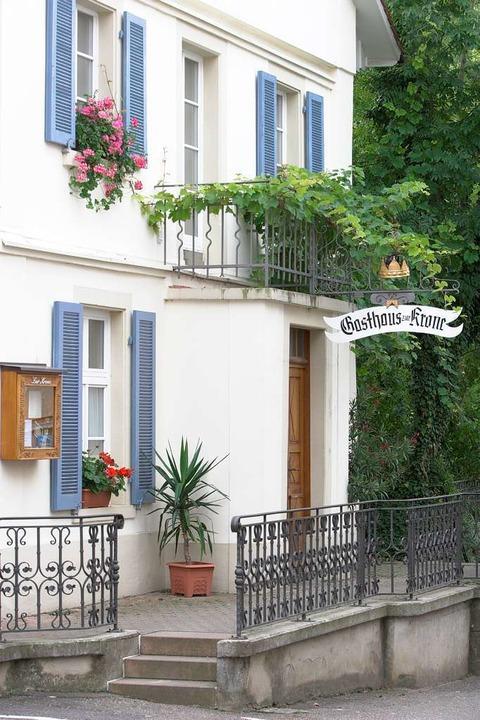 Gasthaus Zur Krone in Schliengen-Mauchen.  | Foto: BZ
