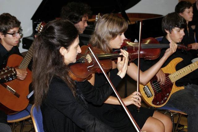 Jugendorchester gibt beeindruckendes Konzert