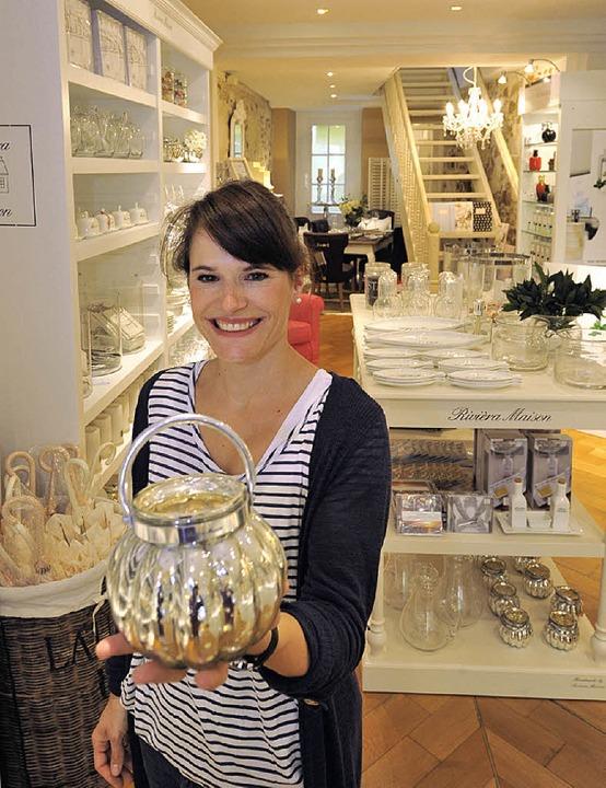 Stefanie Paal in ihrem Geschäft  | Foto: Michael Bamberger
