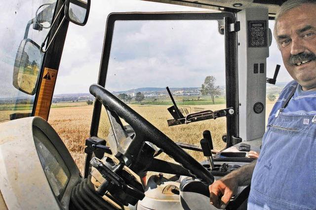 Bauern zwischen Hoffen und Bangen