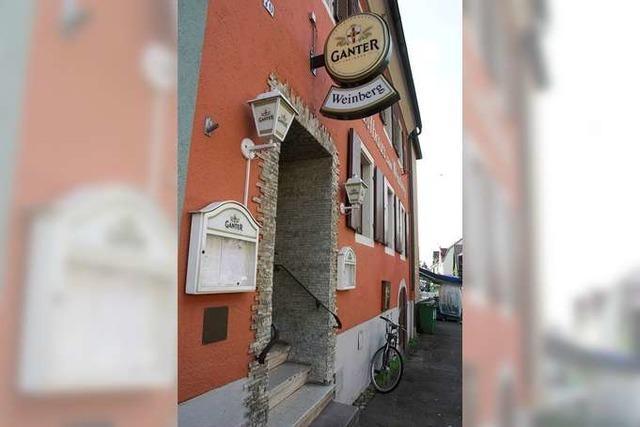 Freiburg: Restaurant Weinberg
