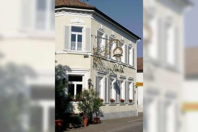Sasbach: Bürgerstube
