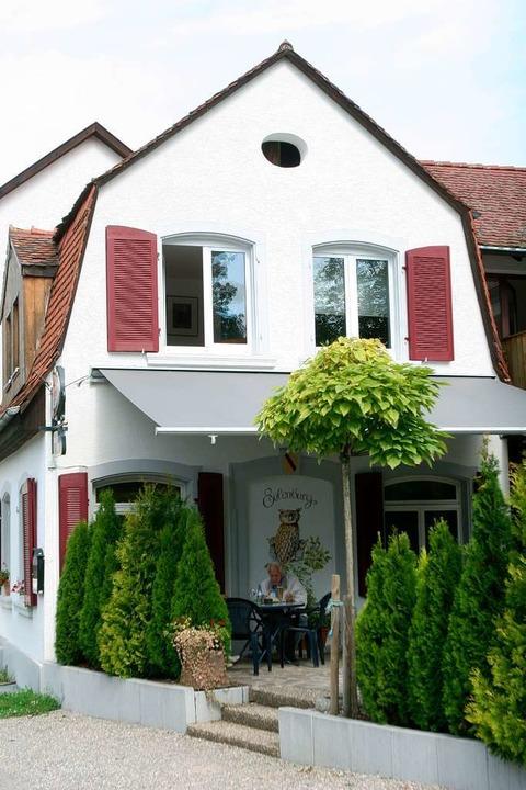 Das Restaurant Rechberger Hof in Lörrach-Hauingen.  | Foto: Patrik Müller