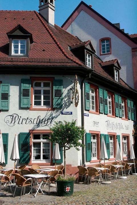 Das Restaurant Wolfshöhle in Freiburg.  | Foto: Patrik Müller