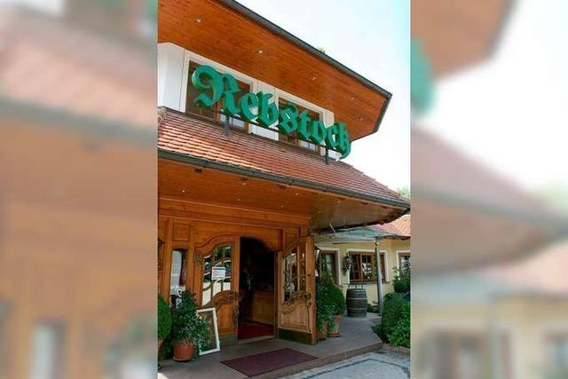Durbach: Restaurant Rebstock