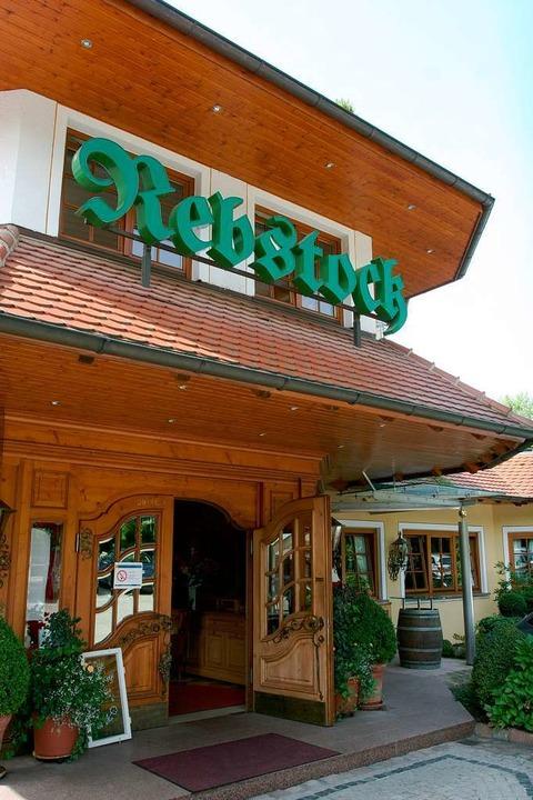 Das Restaurant Rebstock in Durbach.  | Foto: Patrik Müller