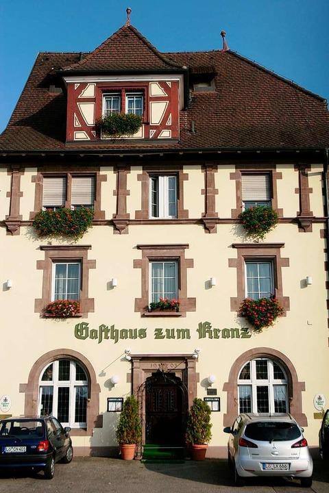 Lörracher Institution: das  Gasthaus Zum Kranz.  | Foto: patrik müller
