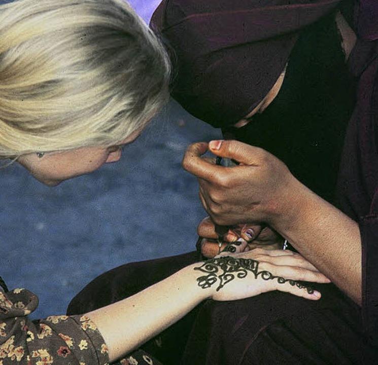 Henna-Bemalung: bei Touristen beliebter als bei  Marokkanern   | Foto: Fotolia.com
