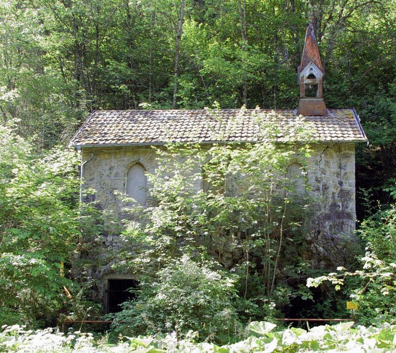 Die kleine Kapelle ist noch das letzte...einstigen Kurbades Bad Boll erinnert.   | Foto: Horst A. Böss