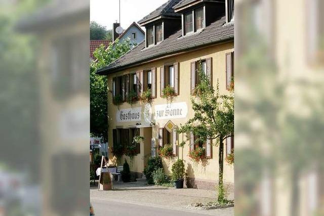 Vogtsburg: Köpfers Gasthaus zur Sonne