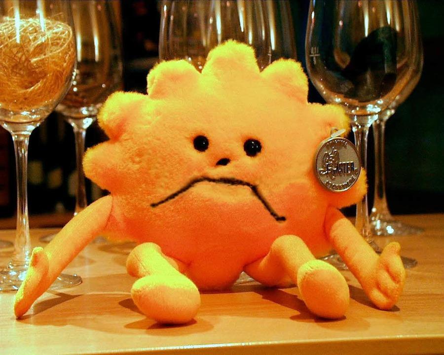 Das Sonnenmännchen trägt Trauer    Foto: riexinger/huber