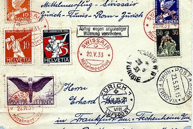 Briefmarkenring richtet die