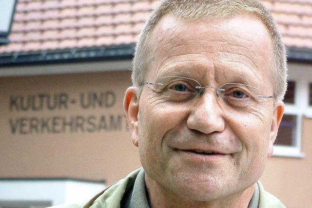 BZ-Interview mit Kulturamtsleiter Reinhard Valenta