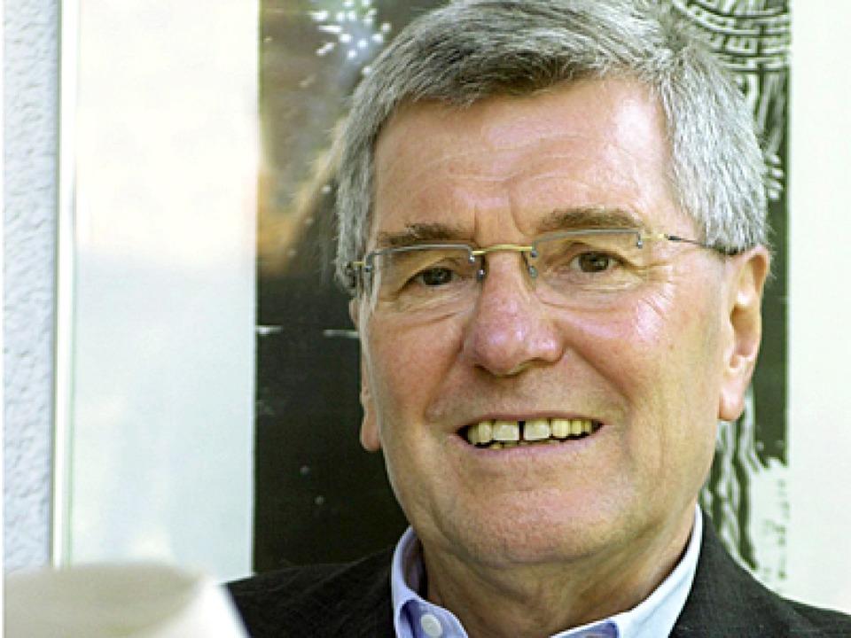 Harald B.Schäfer  war zwischen 1992 un...ef des Stuttgarter Umweltministeriums.  | Foto: Verwendung nur in Deutschland, usage Germany only