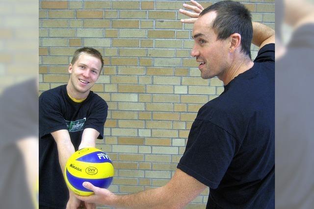 Volleyball mit Wiedererkennungswert