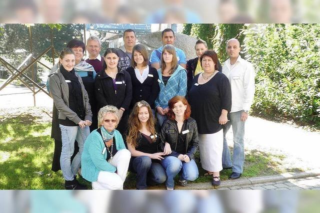 Markus-Pflüger-Heim: 8 neue Auszubildende in der Pflege und Hauswirtschaft