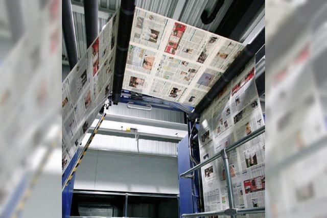 Wie entsteht die Badische Zeitung?