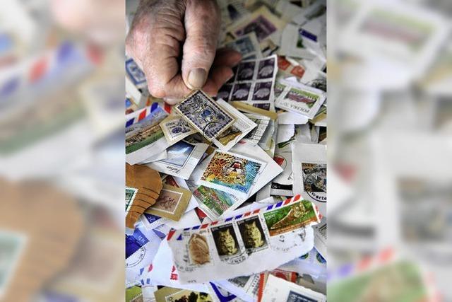 Helfen mit Briefmarken