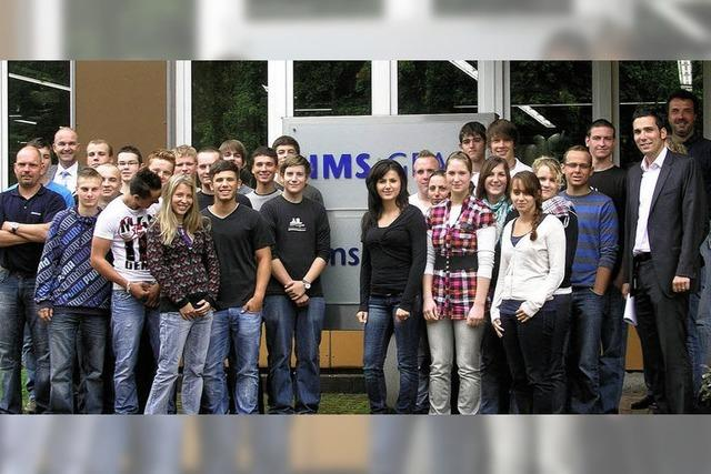 IMS Gear stellt 30 junge Auszubildende in Eisenbach und Donaueschingen ein