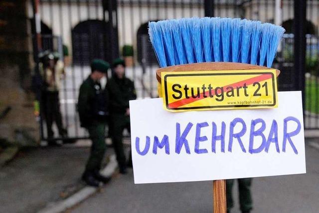 Stuttgart 21: Volksentscheid soll den Konflikt lösen
