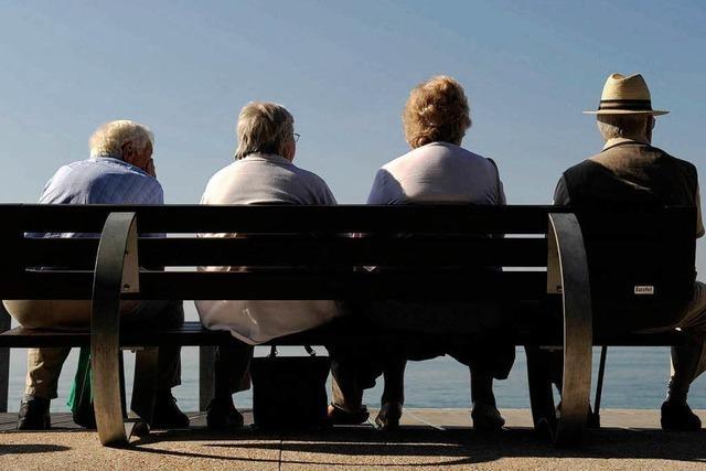 Die Deutschen gehen immer später in Rente
