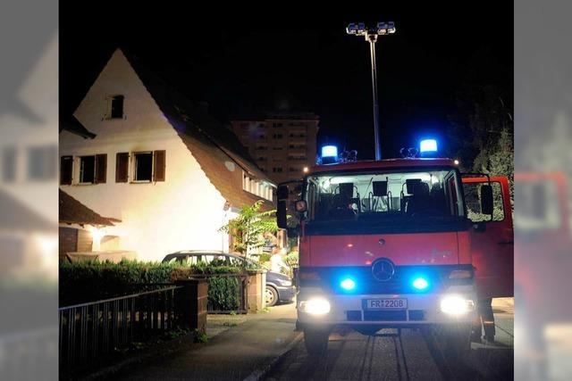 Wohnung in Haslach brennt
