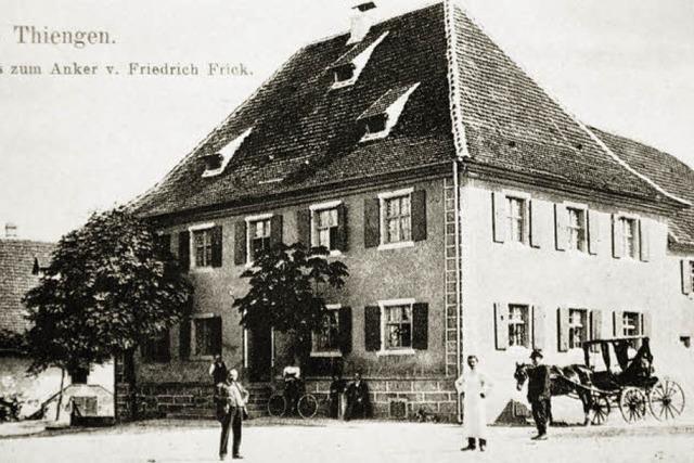 """Der """"Anker"""" war einst Station für den Wechsel von Pferd und Reiter"""